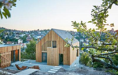 Architektur: Landleben am Hang, mitten in Stuttgart