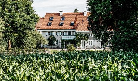 Houzz Германия: Новая жизнь баварской фермы