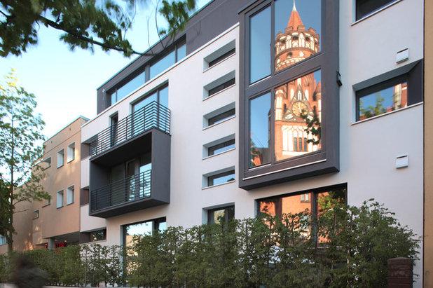 Modern Häuser by Anne Lampen Architekten BDA