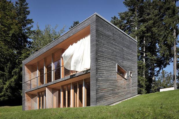 Minimalistisch Häuser by Yonder – Architektur und Design