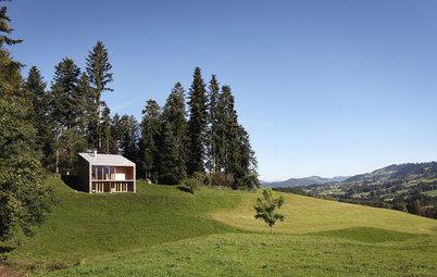 Houzz Австрия: Летний домик – настоящая архитектура с малым бюджетом
