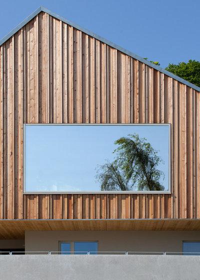 Holzverkleidung Fassade Arten holzfassaden bretter die die welt bedeuten