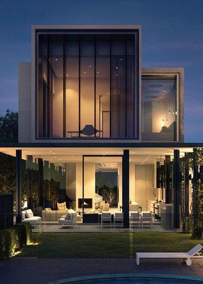 Modern Häuser by CONHOUSE