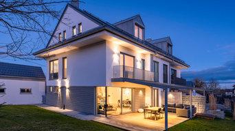 Doppelhaushälfte am See