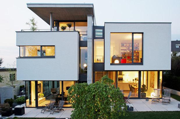 Modern Häuser by Weber & Partner mbB | freie Architekten BDA