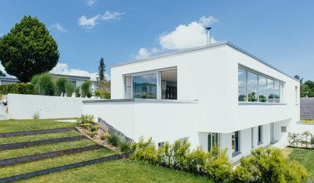 Die sind platt: Vor- und Nachteile von Häusern mit Flachdach
