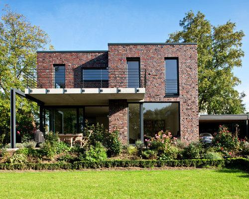 Klinker home design ideas renovations photos for Klinker haus modern