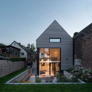 Graue Moderne Hauser Ideen Design Bilder Houzz