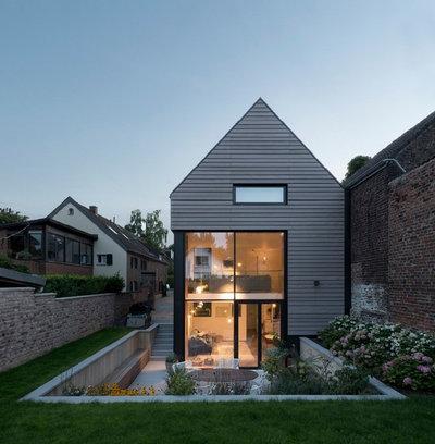 Modern Häuser by heider pannen-vulpi architekten