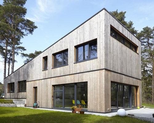 Fassadengestaltung Modern Pultdach Haus Deko Ideen: Fassadengestaltung  Modern Pultdach