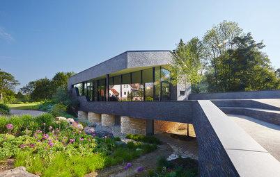 Houzz Германия: Дом в Саксонии — с родителями на одном участке