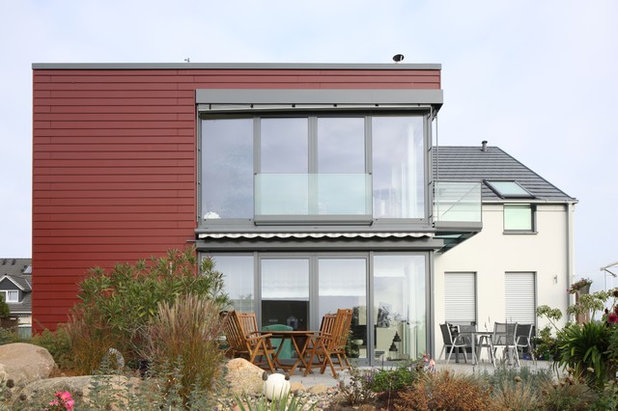 Contemporary Exterior by Cedral