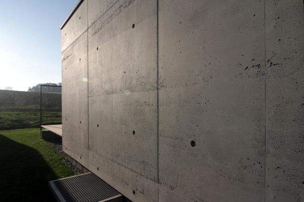 Minimalistisch Häuser by KPT Architekten