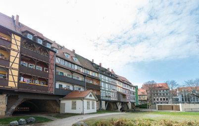 Houzzbesuch: Mittelalter-Romantik – Leben in einem Brückenhaus von 1472