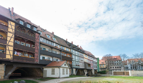 The Romance of Living on Germany's Medieval Merchants' Bridge
