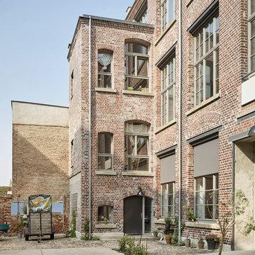 Fabrik im HInterhof
