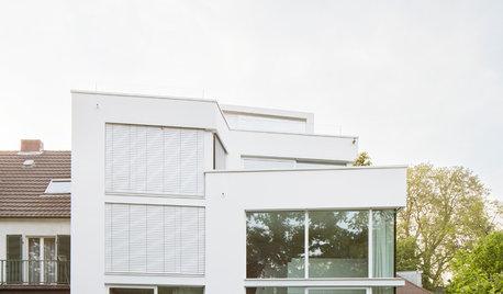 Neubau: Ein Kölner Wohnhaus ohne rechte Winkel