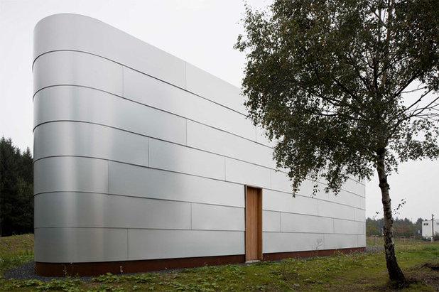 Modern Häuser by quartier vier - Herberg   Siebeck   Wortelkamp