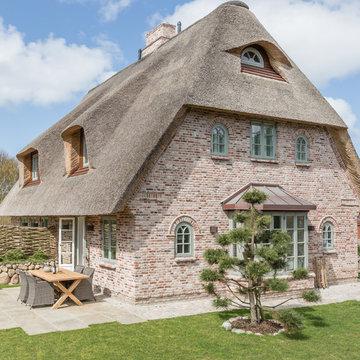 Fotoarbeiten Reetdachhaus in List auf Sylt