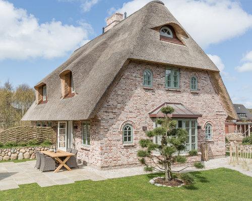 Landhausstil Häuser - Ideen Für Die Fassadengestaltung | Houzz Moderner Landhausstil Einrichtung Fassade