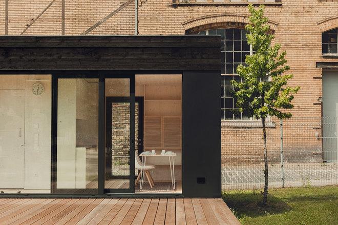Современный Фасад дома by transstruktura