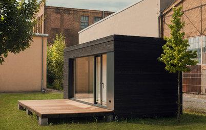 Houzz Tour: Præfabrikeret hjem på bare 19 kvadratmeter