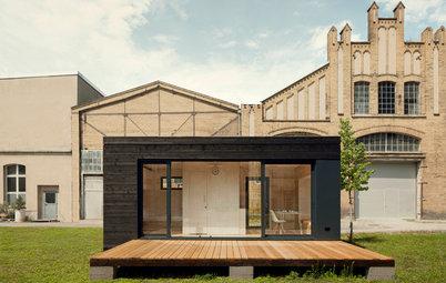 Architektur: 19 qm Wohnen – im serienmäßig produzierten Holzhaus