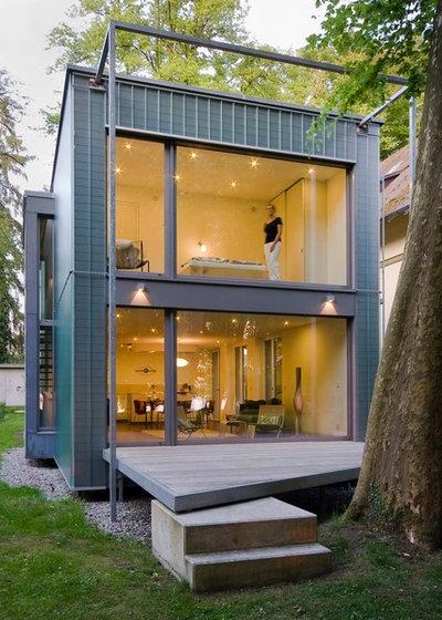 Modern Häuser by Architekten Geckeler