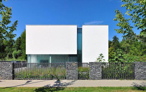 Minimalistisch Häuser by Auspurg Borchowitz + Partner