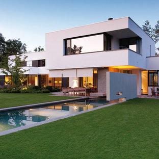 Photos d\'architecture et idées déco de façades de maisons modernes ...