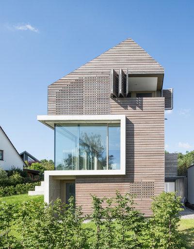 Modern Häuser by klugfotografiert