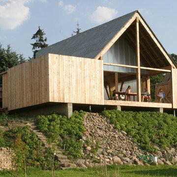 Haus M., Ansicht vom See