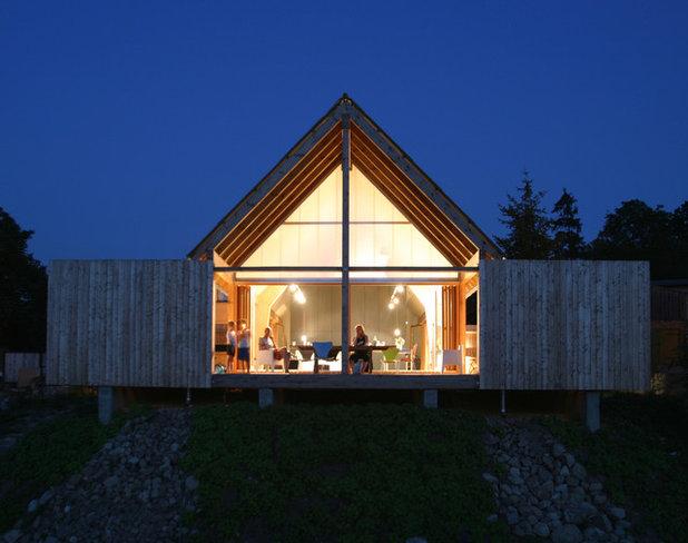 Skandinavisch Häuser by Modersohn & Freiesleben Architekten BDA