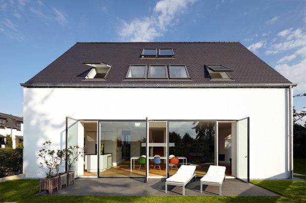 Contemporáneo Fachada by Lioba Schneider  |  Architekturfotografie