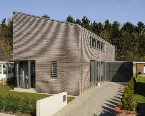 Moderne fassadenverkleidung aus holz  Fassadenverkleidung Holz - Ideen & Bilder | HOUZZ