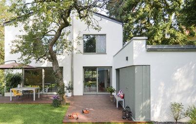 60er-Haus umgebaut: Teppichgeschäft wird zum Familien-Zuhause