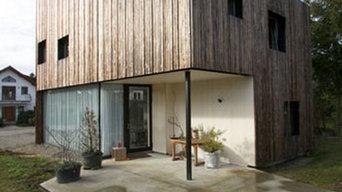 Haus W // Gartenansicht