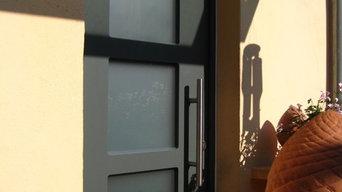 Holz Haustür in Mainz