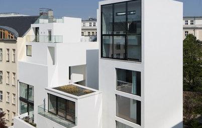 Abstrakt in Berlin – neues Apartmenthaus im alten Zentrum