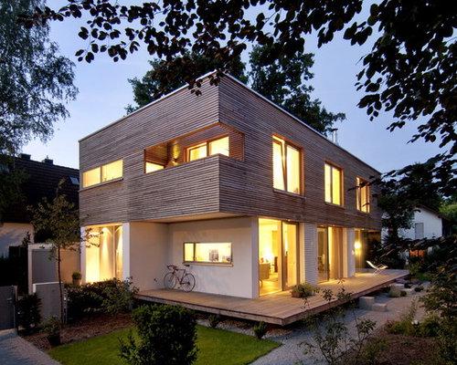 h user ideen f r die fassadengestaltung. Black Bedroom Furniture Sets. Home Design Ideas