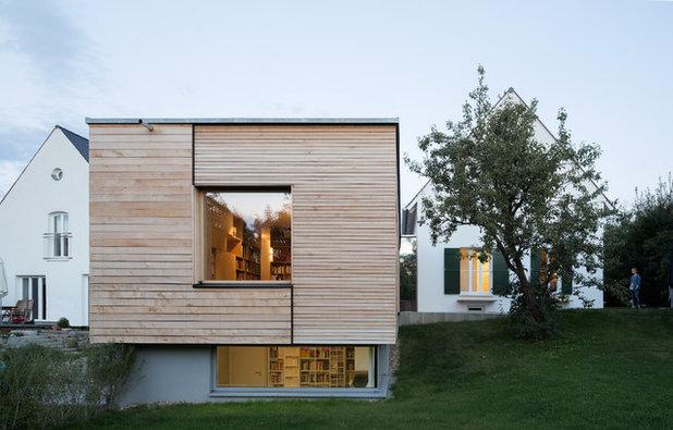 Современный Фасад дома by Fabi Architekten BDA part gmbb