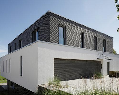 Große moderne häuser und fassaden ideen für die haus