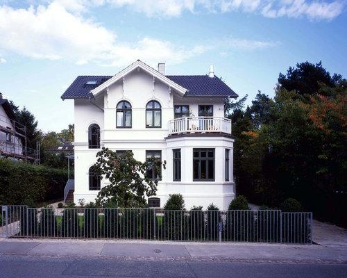 landhausstil haus und fassade ideen f r die. Black Bedroom Furniture Sets. Home Design Ideas