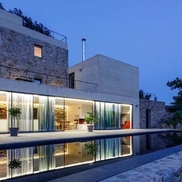 Mediterran Haus & Fassade - Façade méditerranéenne