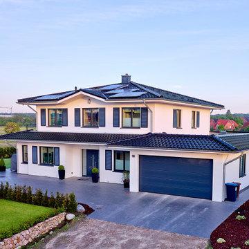 Mediterranes Architektenhaus modern umgesetzt