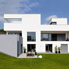 Modern Exterior by Fachwerk4 | Architekten BDA