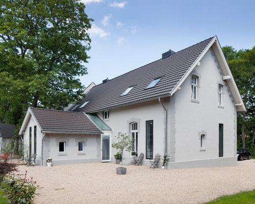 Landhaus modern fassade  Landhausstil Haus - Ideen, Design & Bilder