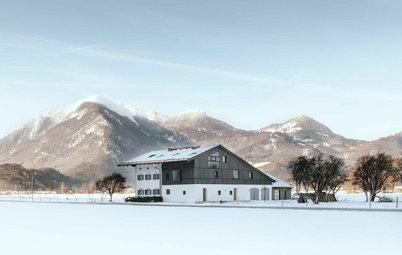 Ein modernes Märchenbauernhaus mit altem Charme
