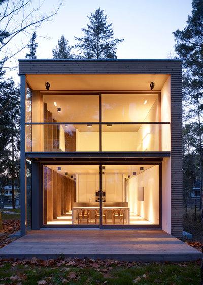 モダン 家の外観 Minimalistisch Häuser