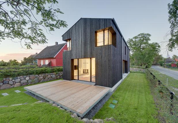 Minimalistisch Häuser by Möhring Architekten